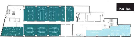 The London Institute of Banking & Finance floorplan