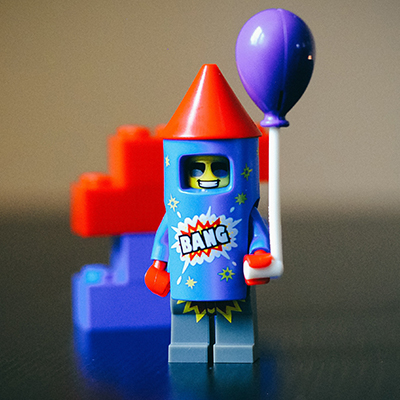 Lego figure with