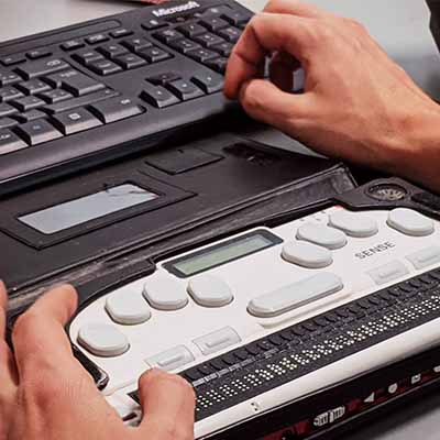 Braille keyboard