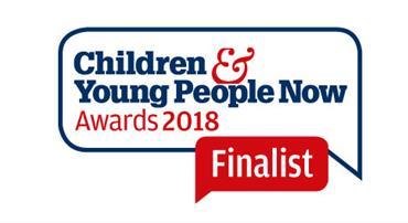 Learning Award for the Children & Young People Now Awards logo