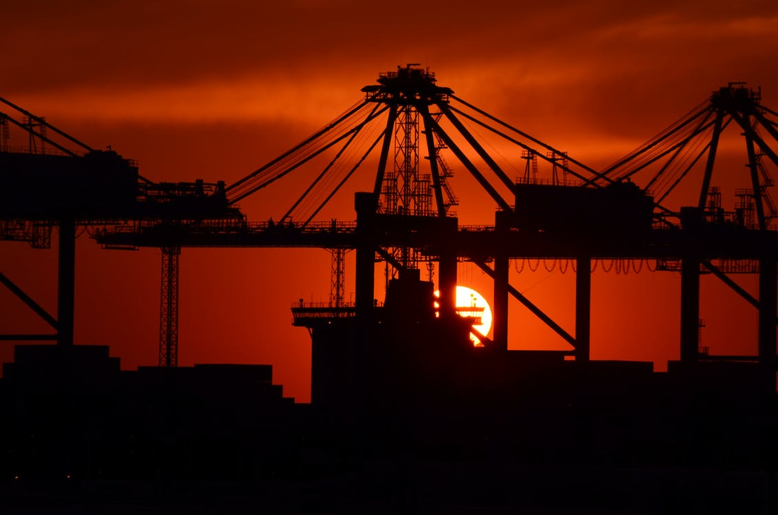 industry-sunset-port-facility-mood-51325