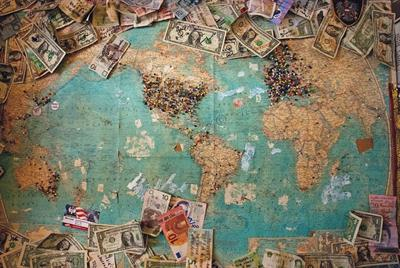 Map with Money
