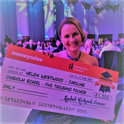 Helen Westwood, Moneywise winner