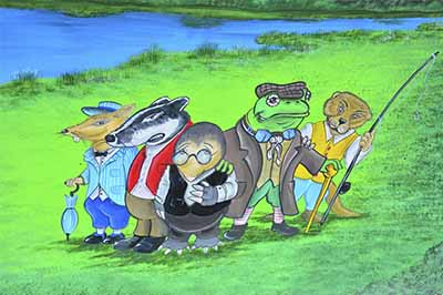 Wind in the Willows illustration