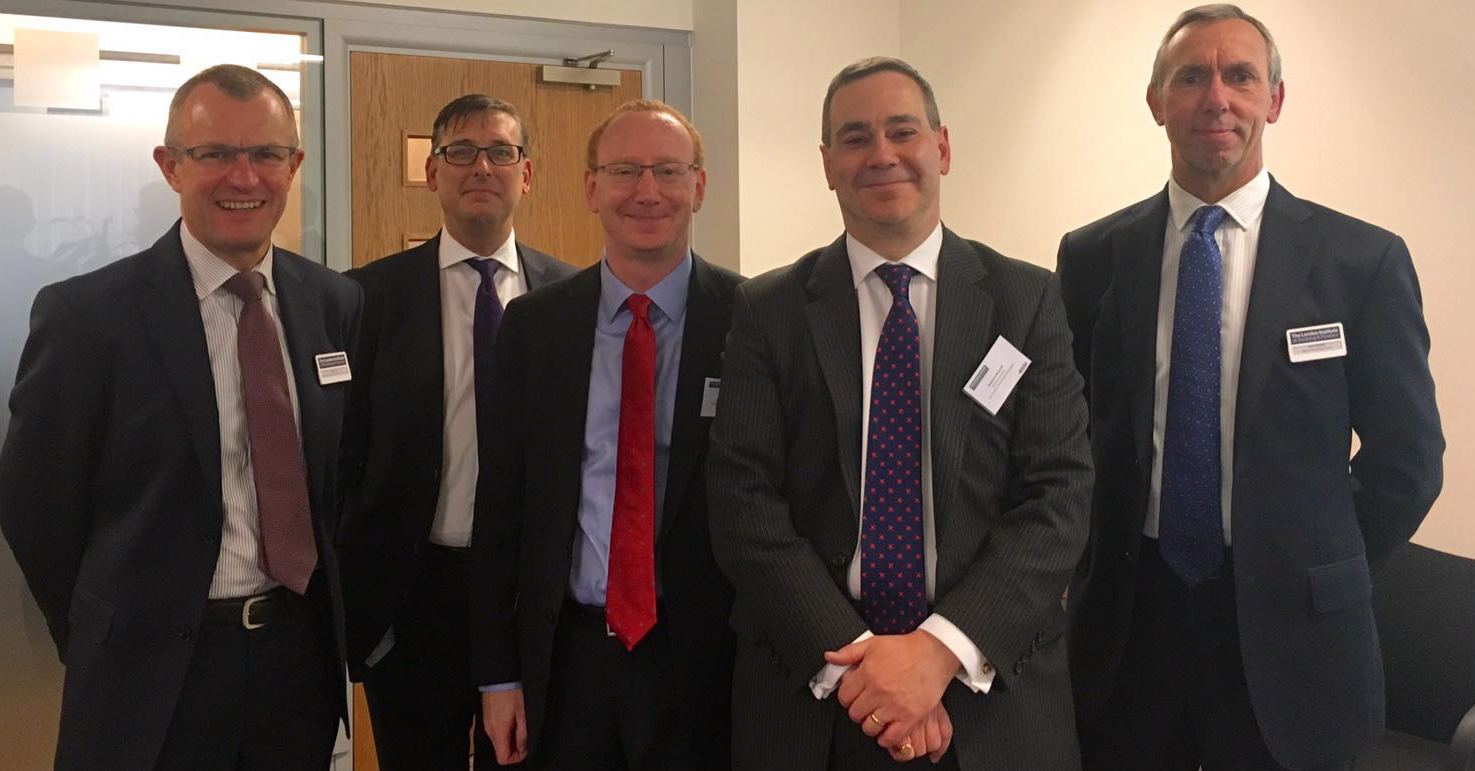 Staff from The London Institute of Banking & Finance and the FInance and Leasing Association at the DipAF launch