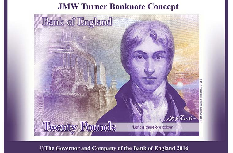 A new £20 bank note