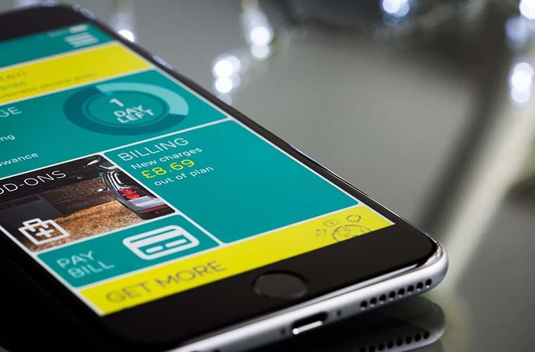compressed app banking