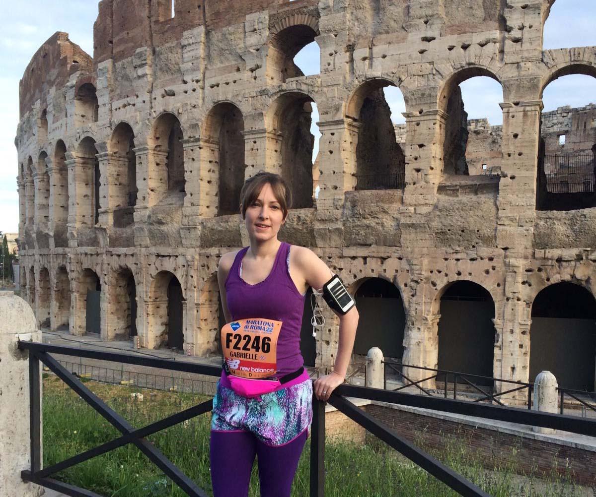 Gabbi Stopp marathon