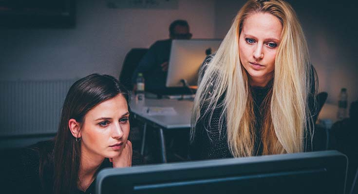 Having a mentor can help your career progression