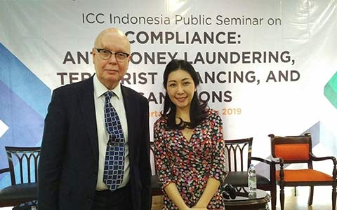 David-Morrish- and-Amanta-Ong-at-the-Indonesia-International-Chamber-of-Commerce-Conference