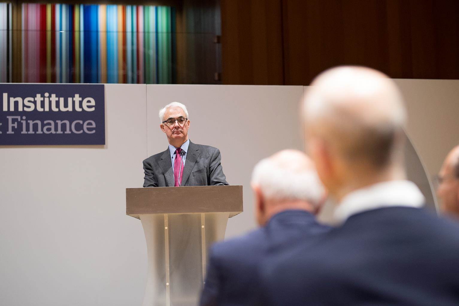 Rt Hon. Lord Alistair Darling speaks at the 2017 Henry Grunfeld Lecture