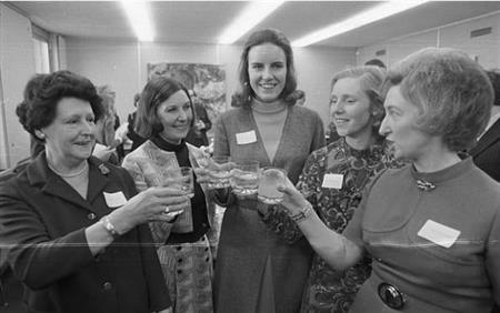 In 1973 the first women were welcomed into the London Stock Exchange