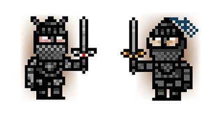 Stajano-pixel-knights