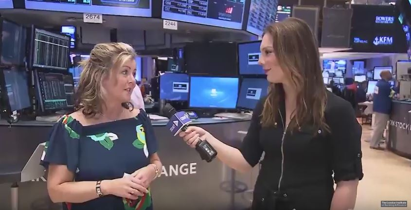 Alison Pask gets interviewed by Asset TV for the Student Investor Challenge